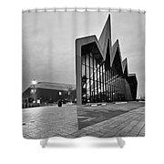 Glasgow Riverside Transport Museum Shower Curtain