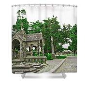Glasnevin Cemetery 2 Shower Curtain