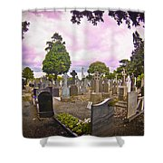 Glasnevin Cemetery Shower Curtain