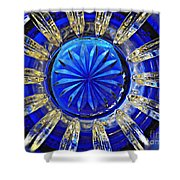 Glass Abstract 590 Shower Curtain