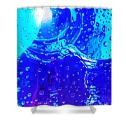 Glass Abstract 603 Shower Curtain