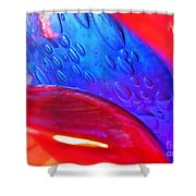 Glass Abstract 610 Shower Curtain