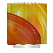 Glass Abstract 723 Shower Curtain