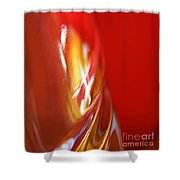 Glass Abstract 738 Shower Curtain