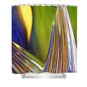Glass Abstract 743 Shower Curtain
