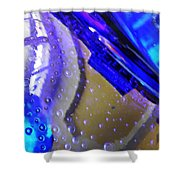 Glass Abstract 780 Shower Curtain