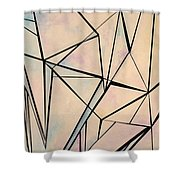 Glass And Sky 1 Shower Curtain