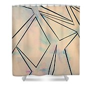 Glass And Sky 2 Shower Curtain