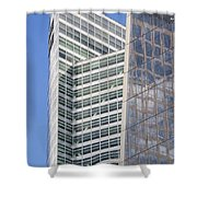 Glass Architecture Shower Curtain