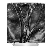 Glass Ceiling Shower Curtain