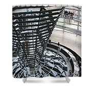 Glass Cupola - Berlin Shower Curtain