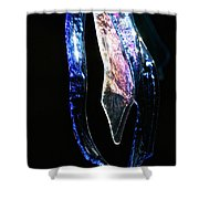 Glass Icicles Shower Curtain