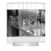 Glass Miniatures Shower Curtain