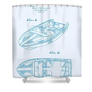 Glasspar 1960's California Boat Shower Curtain