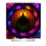 Glastonbury Tor Shower Curtain