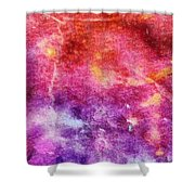 Glaze Abstract Phone Case Shower Curtain