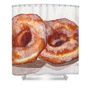 Glazed Donuts Shower Curtain