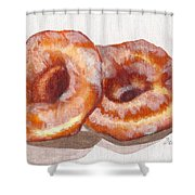 Glazed Donuts Shower Curtain