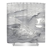 Gleaming Facets Shower Curtain