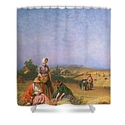 Gleaning Shower Curtain
