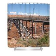 Glen Canyon Bridge Shower Curtain