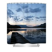 Glenade Lake Co Leitrim Ireland Shower Curtain