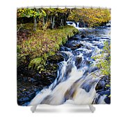 Glenbrittle Waterfall Shower Curtain
