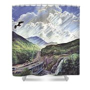Glencoe Shower Curtain by Steve Crisp