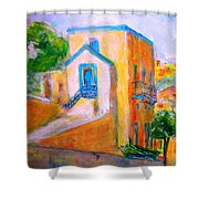 Gleneagles Gozo Shower Curtain by Marco Macelli