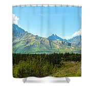 Glenn Hwy A-1 Shower Curtain