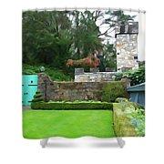 Glenveagh Garden Gate Shower Curtain