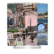 Glimpses Of Italy Shower Curtain