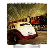 Glitzy Shower Curtain