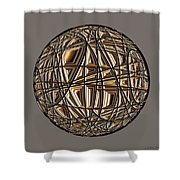 Global Routing Shower Curtain