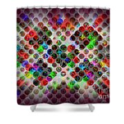 Globes 1 Shower Curtain