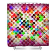 Planetary Systems - Globes 2 Shower Curtain