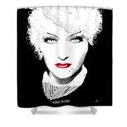Gloria Swanson - Marlene Dietrich Shower Curtain