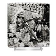 Gloria Swanson - My American Wife Shower Curtain