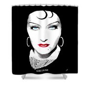 Gloria Swanson - Esrellita Castro Shower Curtain