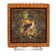 Glorious Birds-a2 Shower Curtain