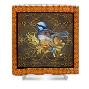Glorious Birds-b2 Shower Curtain