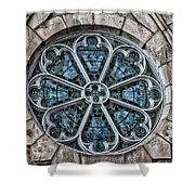 Glorious Church Stained Glass Shower Curtain