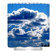 Glorious Clouds II Shower Curtain