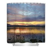 Glorious Morning In Donegal Shower Curtain
