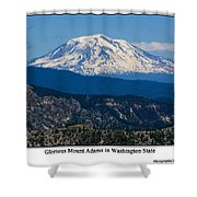 Glorious Mount Adams Shower Curtain