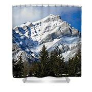 Glorious Rockies Shower Curtain
