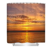 Glorious Sunset Shower Curtain