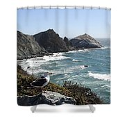 Glorious View Shower Curtain