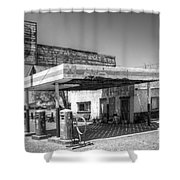 Glory Days Of Route 66 Shower Curtain