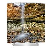 Glory Hole Waterfall Portrait Shower Curtain